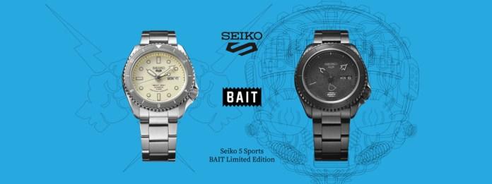 Seiko 5 Sports x BAIT