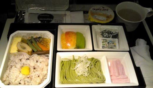 ANA151便羽田発シンガポール行!エコノミークラスの朝食は早朝4時!