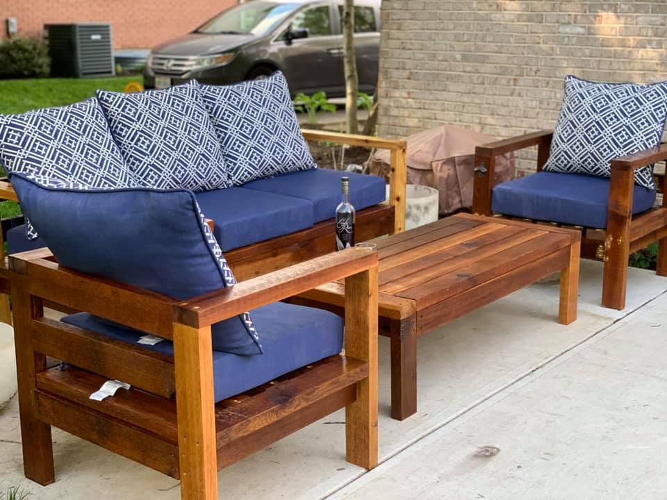 2x4 outdoor chair ana white