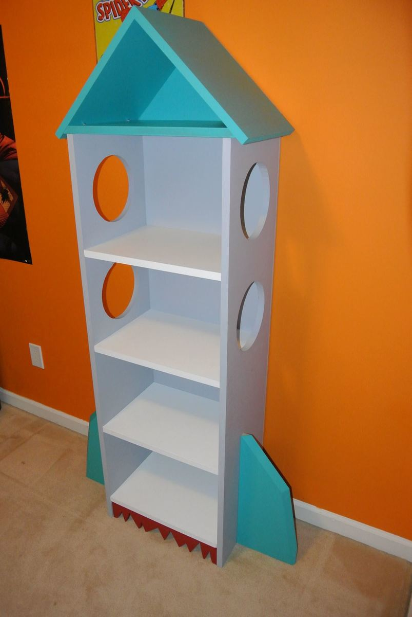 Ana White Rocket Bookcase Diy Projects