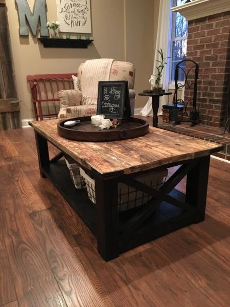Rustic Country Living Room Furniture