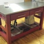 My Stainless Steel Kitchen Island Ana White