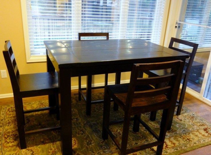 ana white | tryde counter-height kitchen table - diy projects