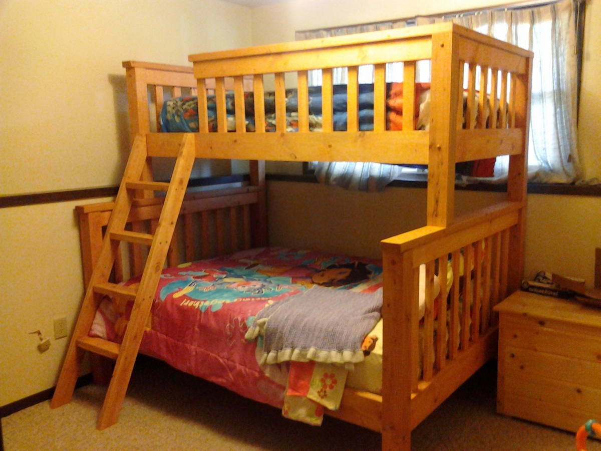 Twin Over Full Bunk Beds Ana White
