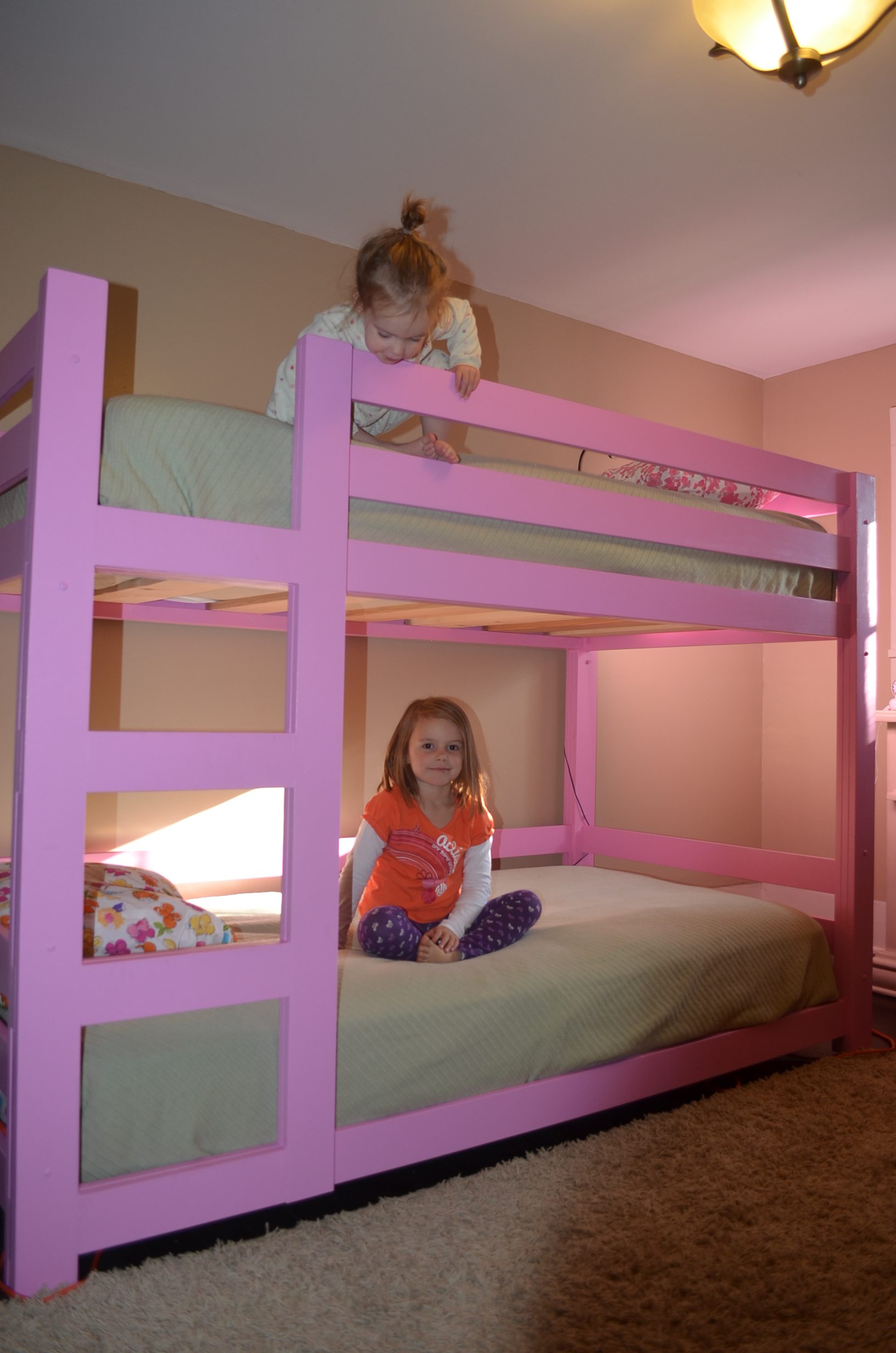 Ana White Girly Bunk Beds Diy Projects