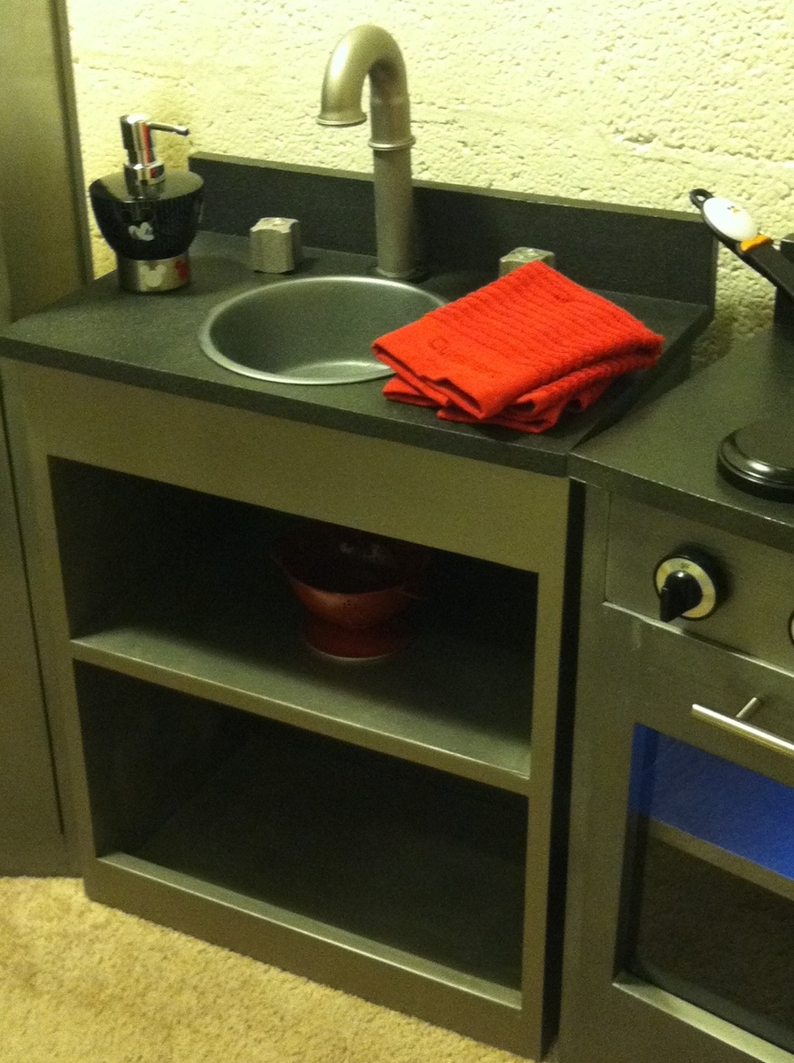 Ana White Simple Play Kitchen With Fridge Diy Projects