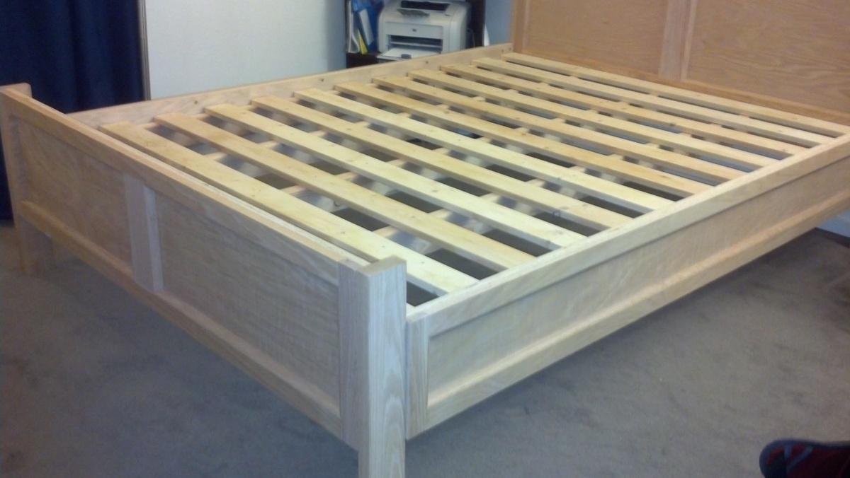 Ana White Modified FarmhousePottery Barn Bed Frame