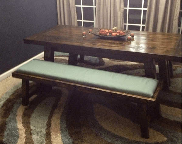 Ana White Benchwright Farmhouse Table Amp Benches DIY Projects