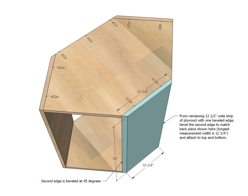 Upper corner cabinet dimensions for Building upper corner kitchen cabinets