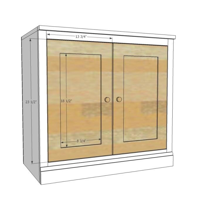 Ana White Base Cabinet