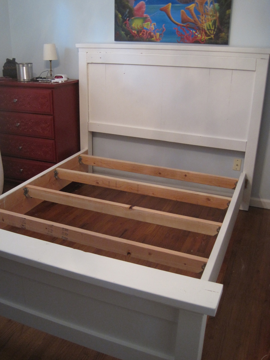 Ana White Queen Farmhouse Bed First Build DIY Projects