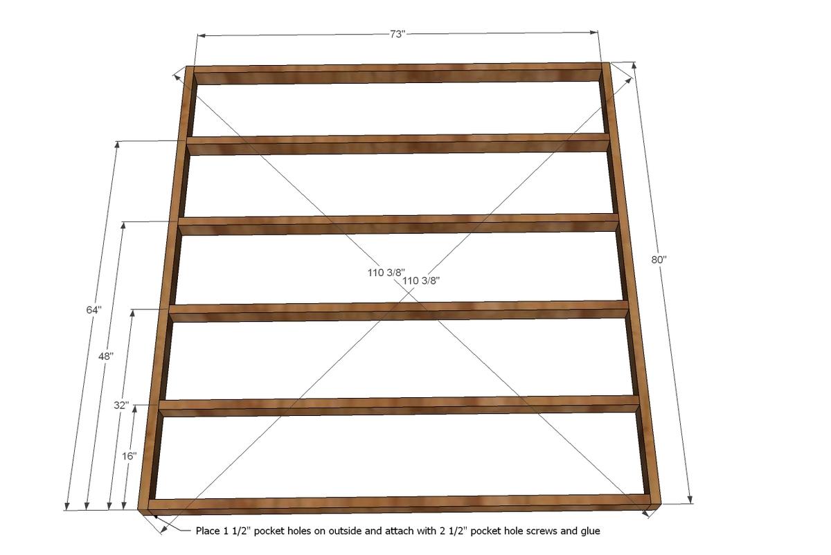 Platform Bed Woodworking Plans Diy Pedestal King