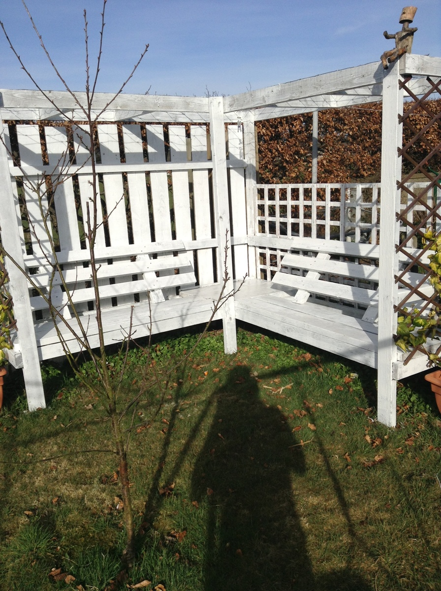 Ana White Corner Pergola Diy Projects