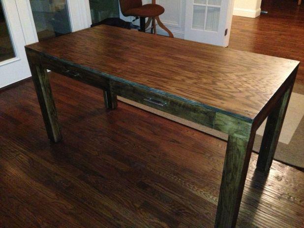 Parsons Table Desk Plans Brokeasshome Com