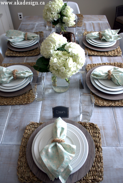 Ana White White Wash Pickled Farmhouse Table DIY Projects