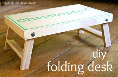 folding lap desk ana white