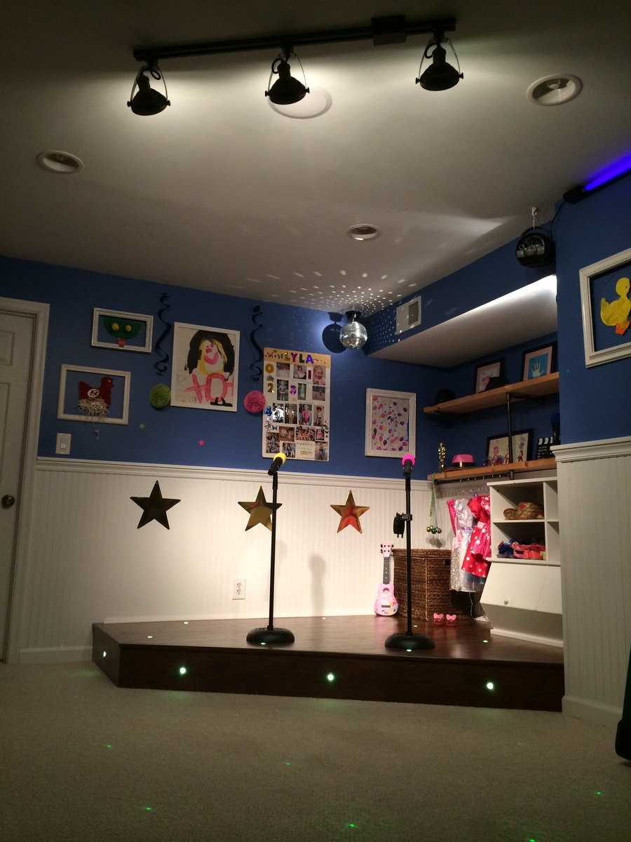 Ana White Playroom Stage DIY Projects