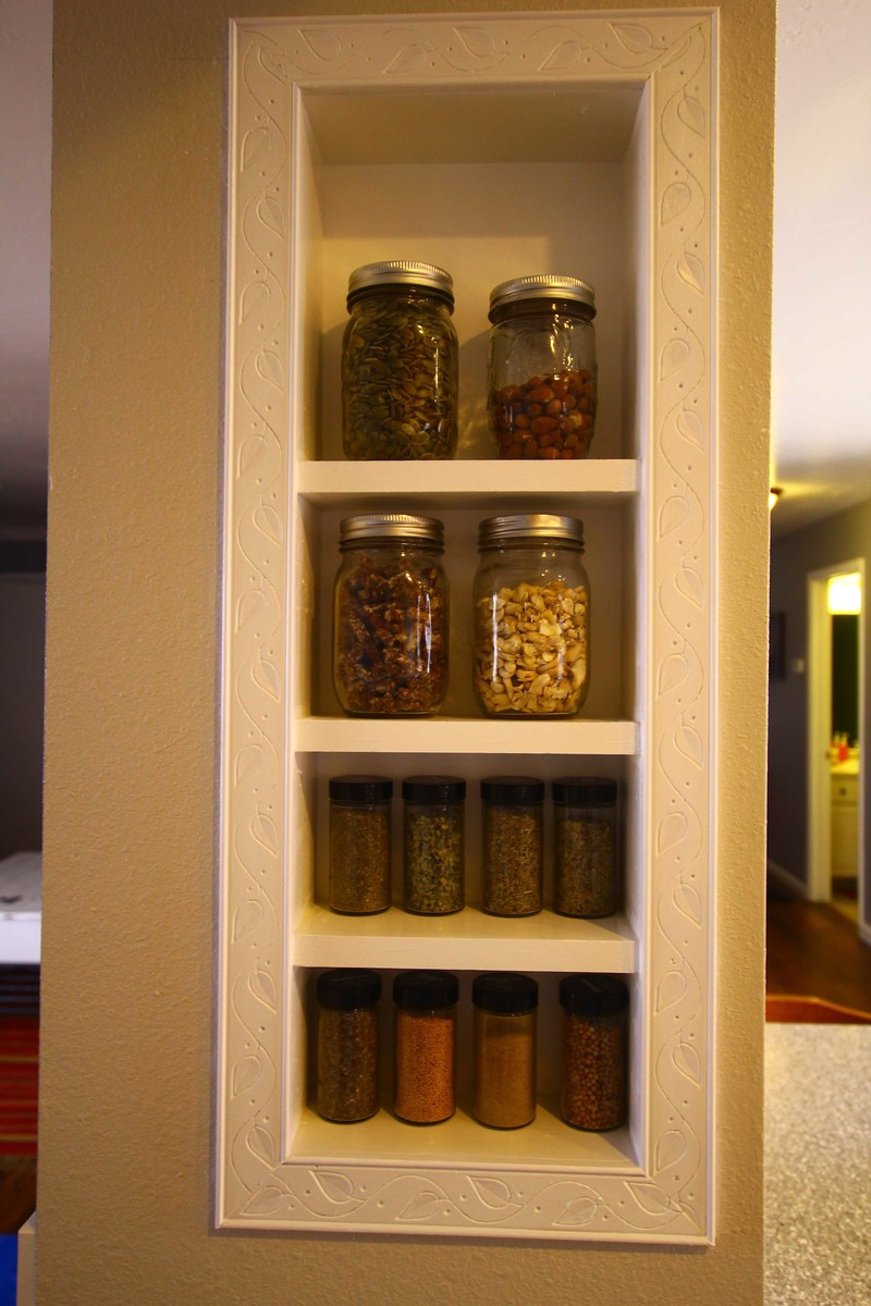 Ana White Spice Rack Built In DIY Projects