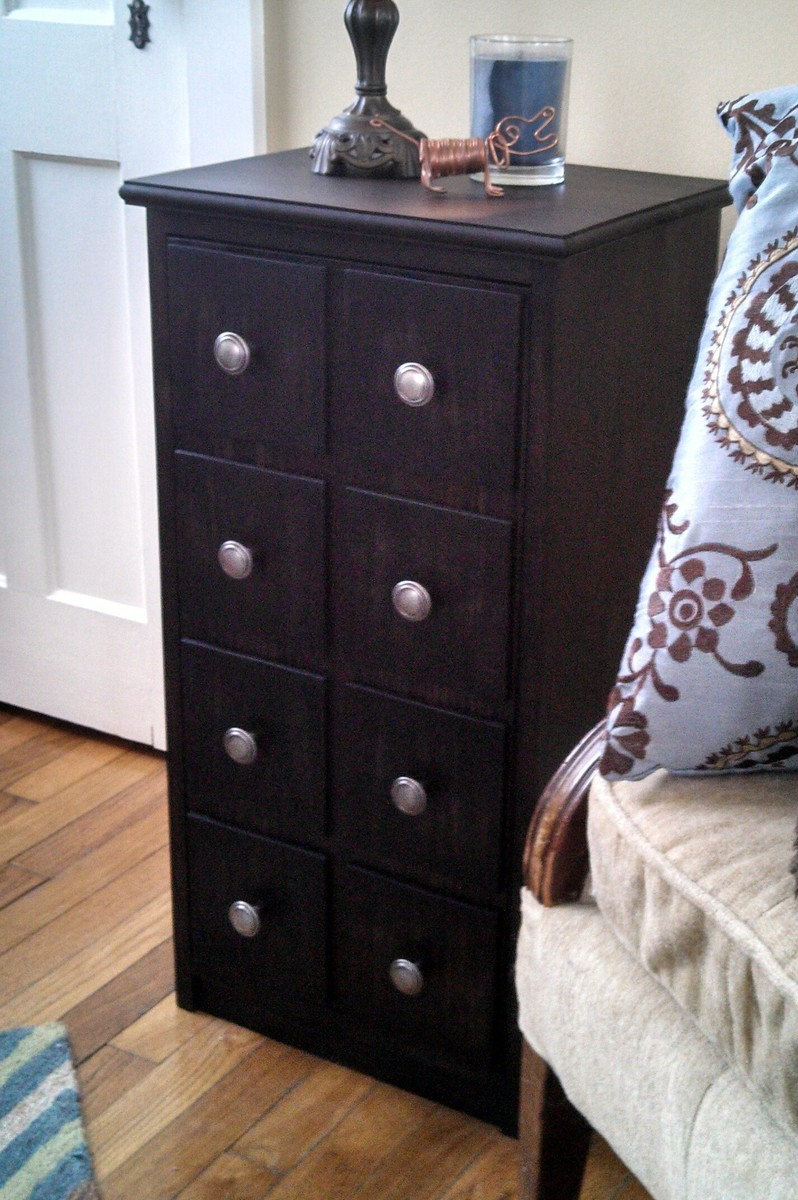 Ana White Apothecary End Table Cabinet DIY Projects