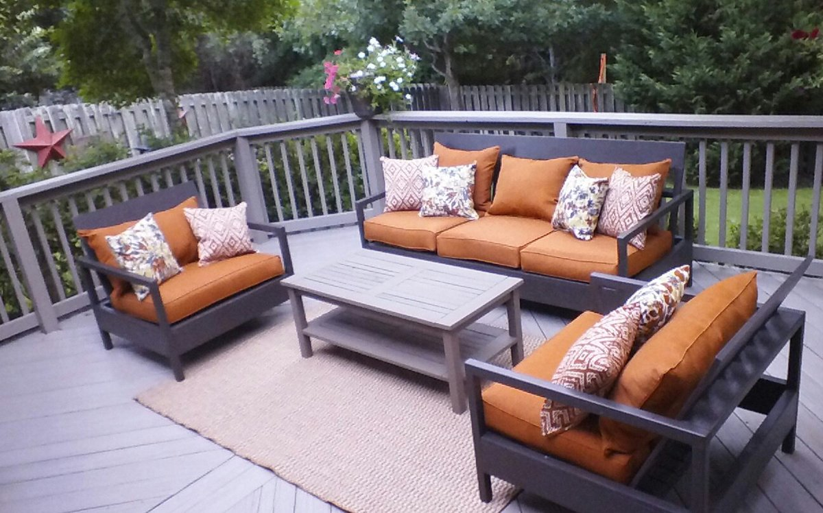 Ana White | outdoor patio furniture - DIY Projects on Build Backyard Patio id=67267