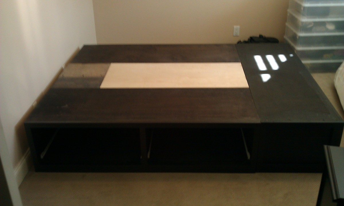 Ana White Queen Storage Bed Done Diy Projects