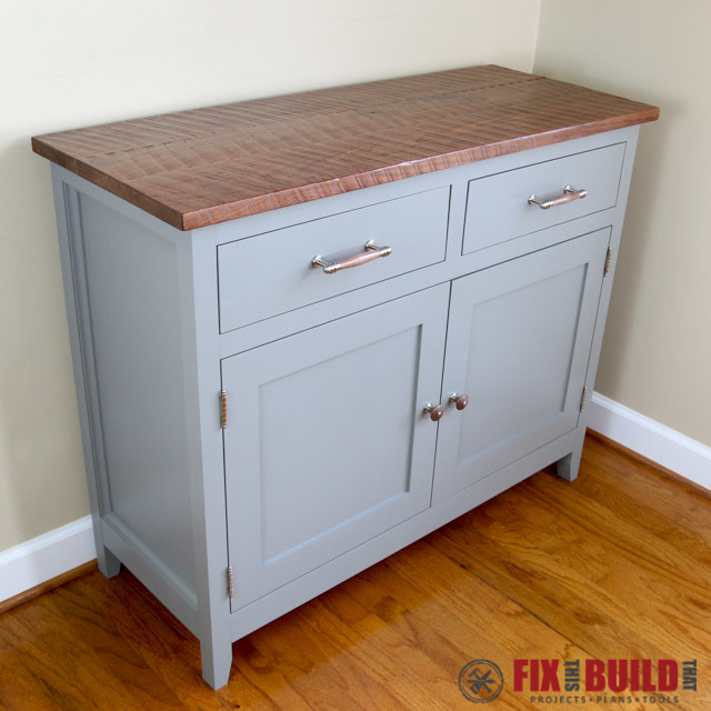 Ana White   Sideboard Cabinet   DIY Projects Sideboard Cabinet