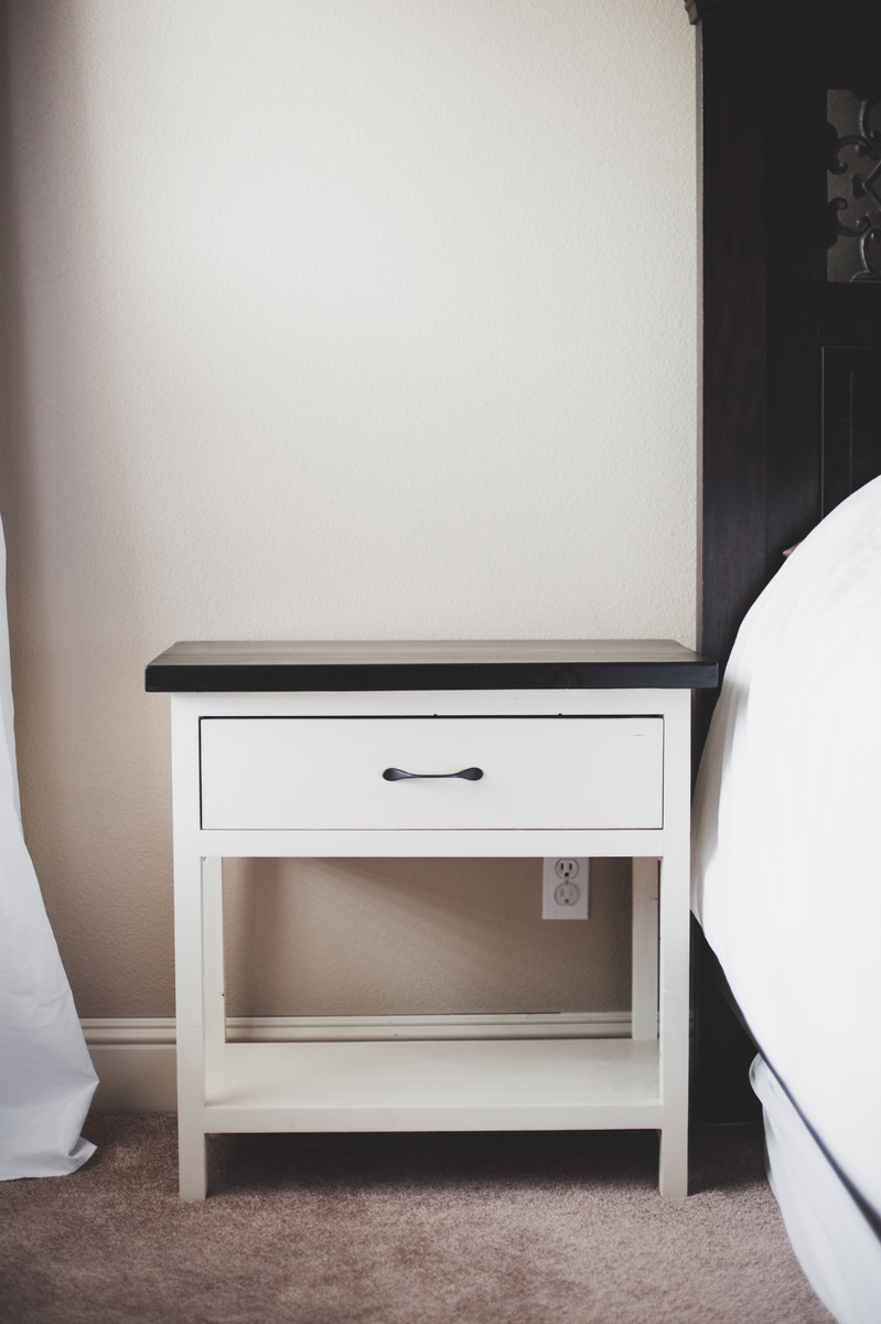 Ana White Our New Farmhouse Bedside Tables DIY Projects
