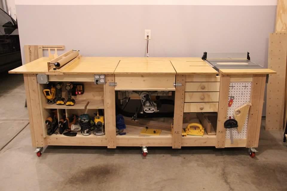 Woodshop Ideas Wood Storage