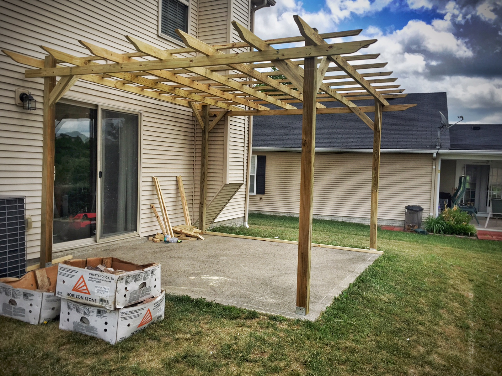 Ana White 235 Weatherly Pergola Diy Projects