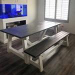 4x4 Truss Table Bench Ana White