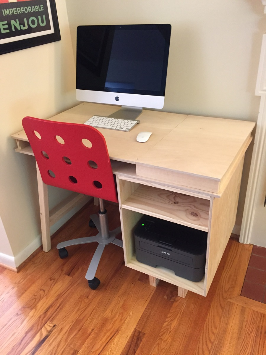 Build Own Your Desk Diy