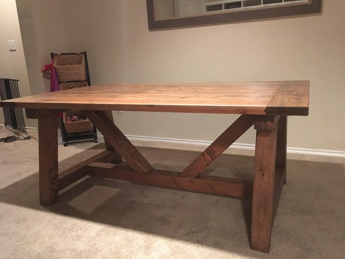 Rustic X Furniture Plans