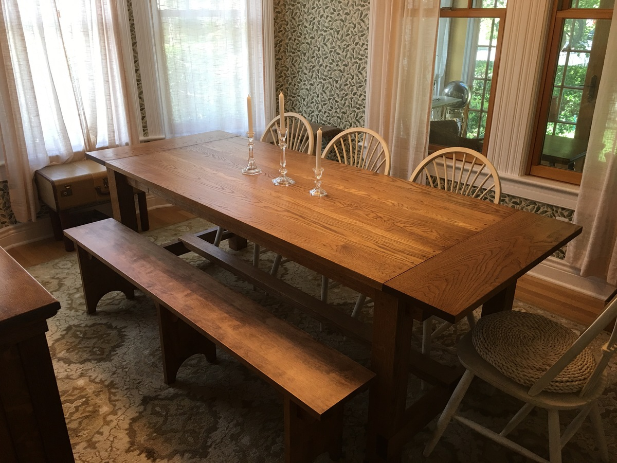 Oak Table Room Dining