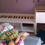 Storage Twin Beds With Corner Unit And Secret Hideout Ana White