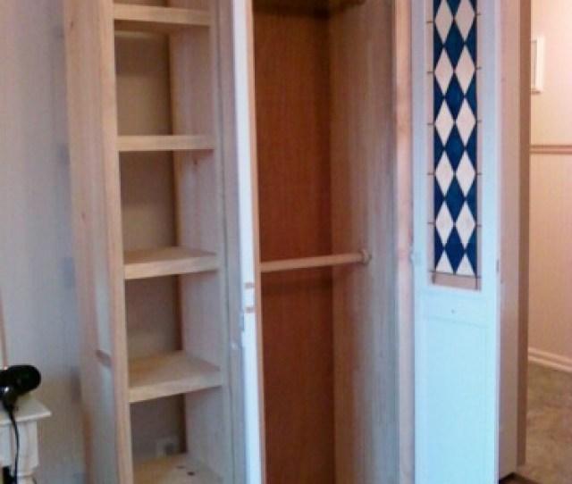 Armoire For Repurposed Door
