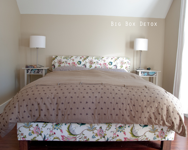Ana White Much More Than A Chunky Leg Bed Frame DIY