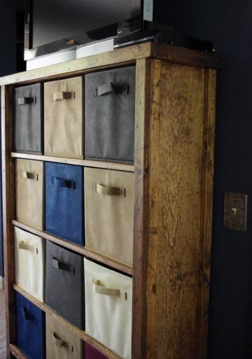 Ana White Bedroom Dresser Cubbies Media Stand DIY