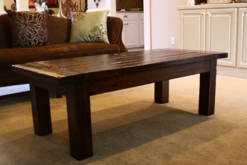 Ana White | Tryde Coffee Table - DIY Projects on Coffee Table Plans  id=34072