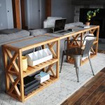 20 Modern Farmhouse Console Table Inspired By Pottery Barn Grove Console Table Ana White
