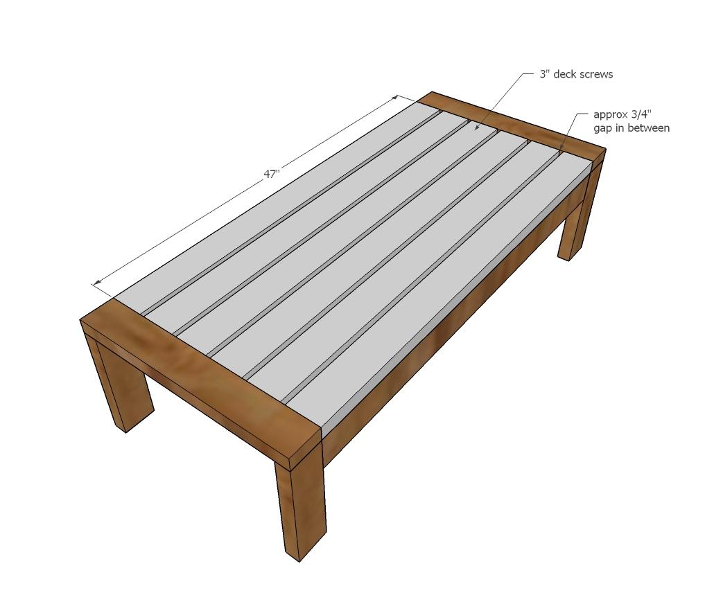 2x4 outdoor coffee table ana white