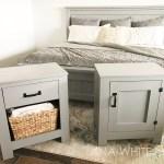 Farmhouse Bed Standard King Size Ana White