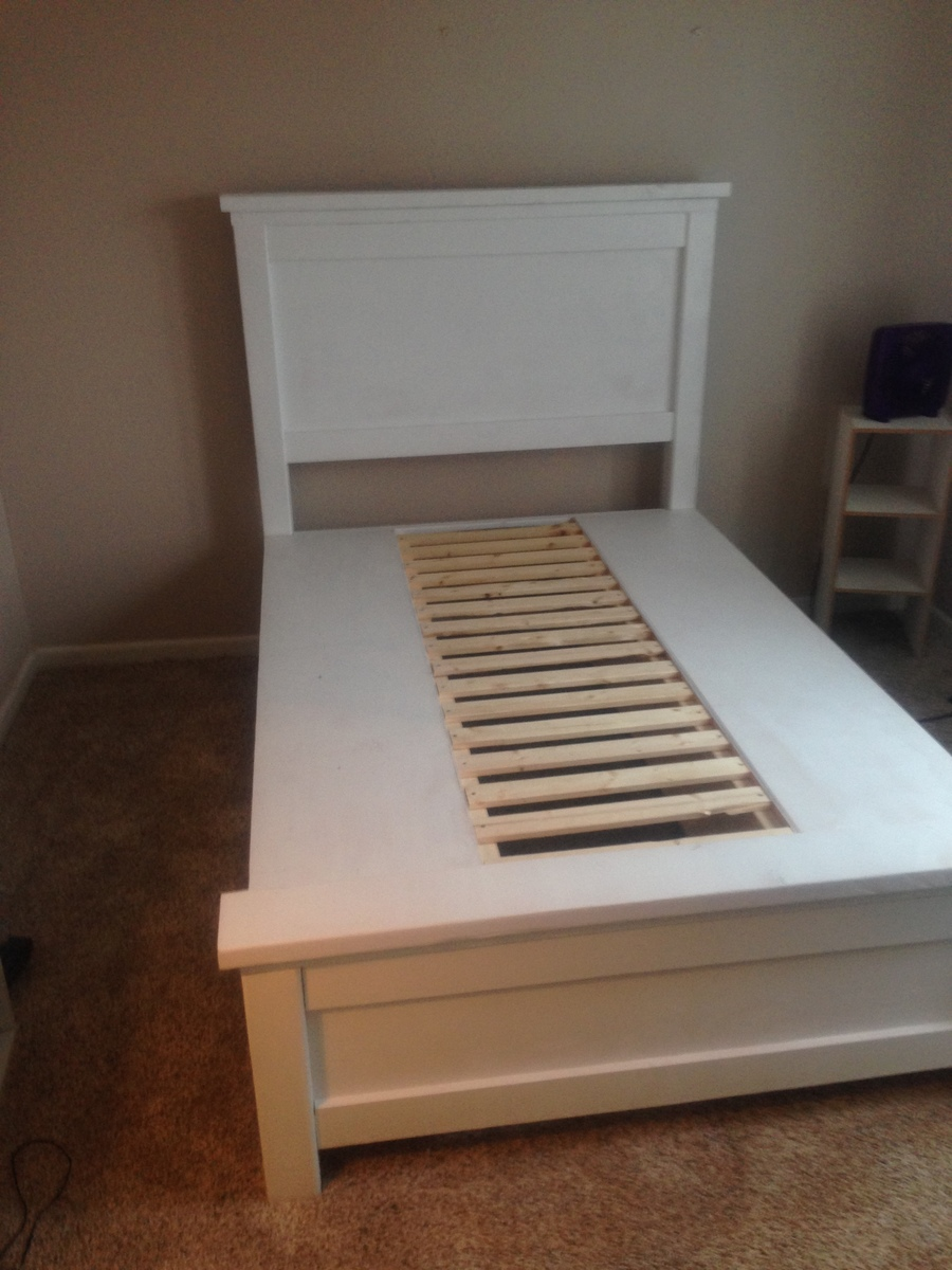 Ana White   Farmhouse Storage Bed with Drawers   Twin and Full   DIY     DIY Farmhouse bed with storage drawers  in twin and full sizes  Perfect for  adding storage to kids rooms