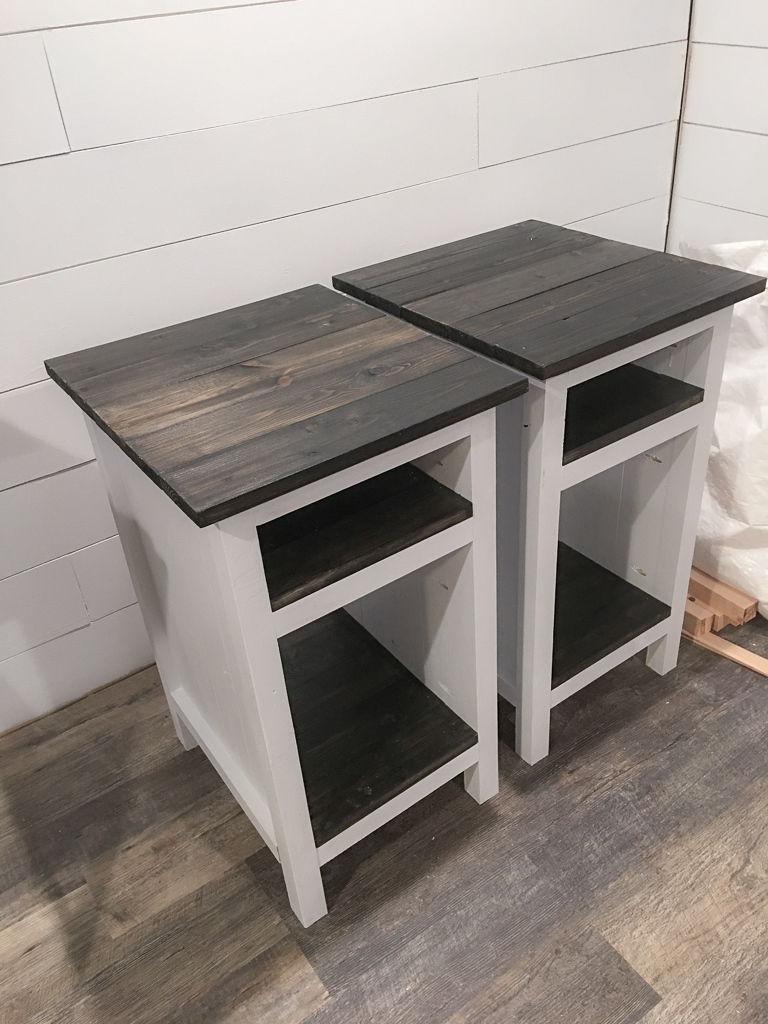 Bedside End Tables Ana White