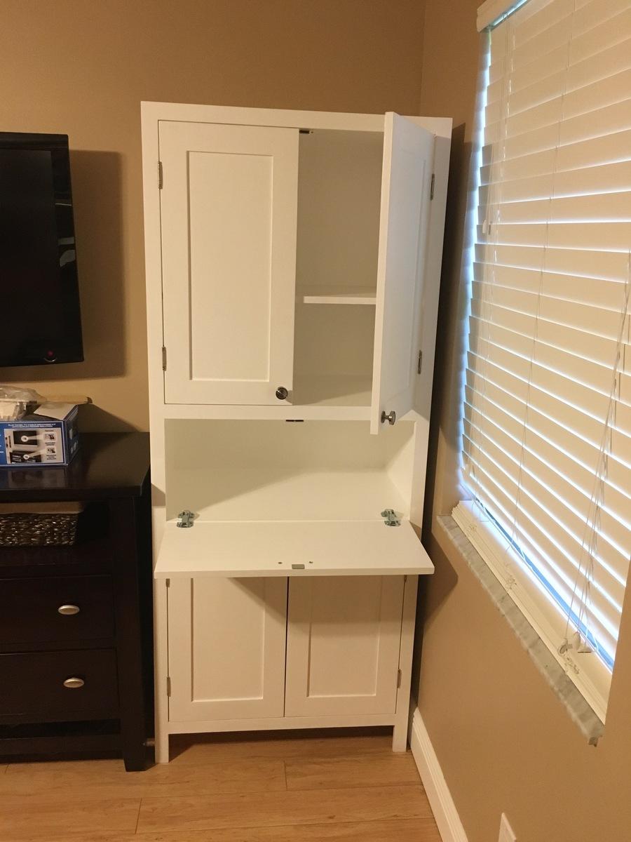 Ana White SecretaryStorage Cabinet DIY Projects