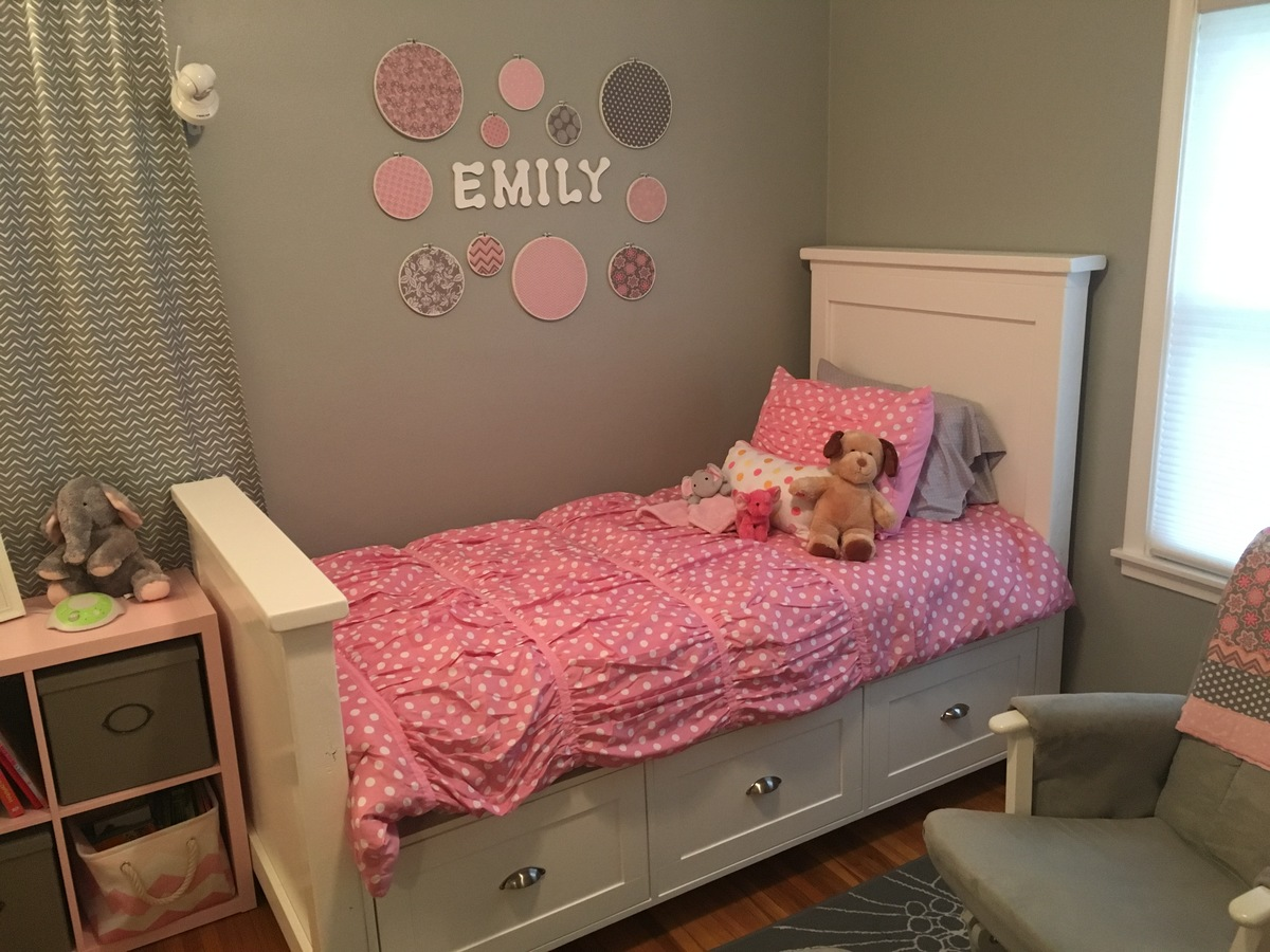 Ana White Twin Size Farmhouse Bed With Storage Drawers DIY Projects