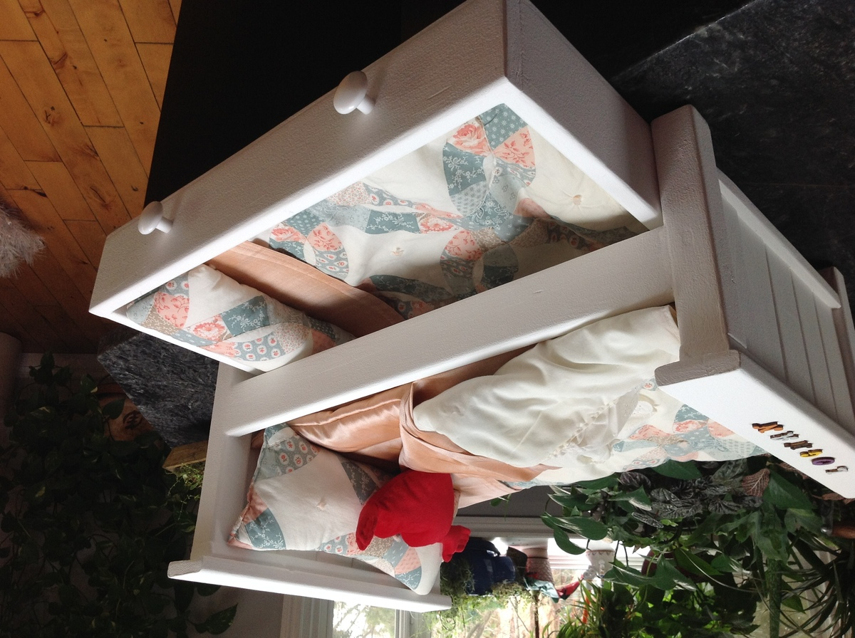 Ana White Dolls Trundle Bed DIY Projects