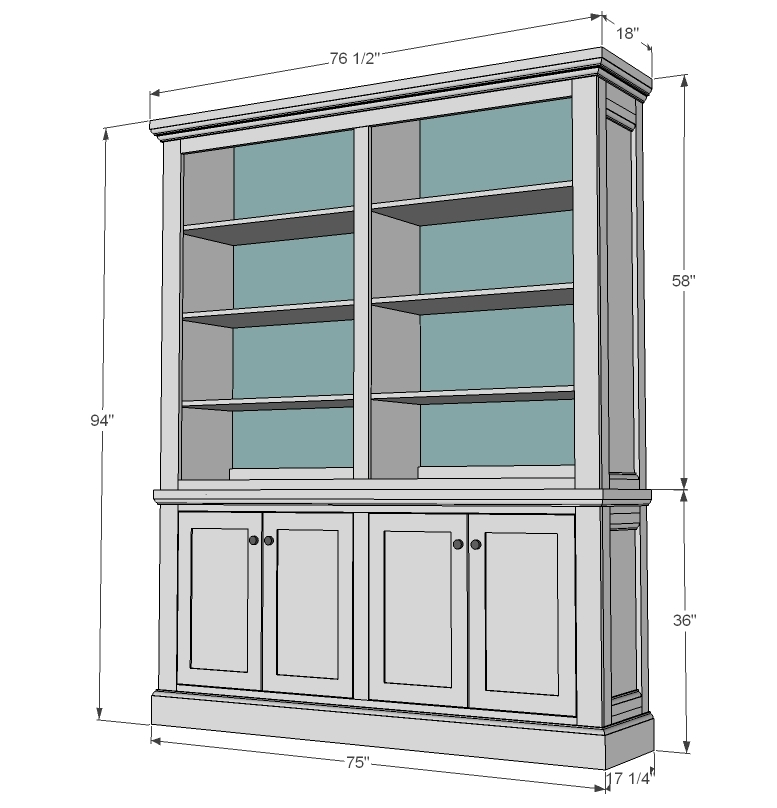 Knick Knack Shelf Plans