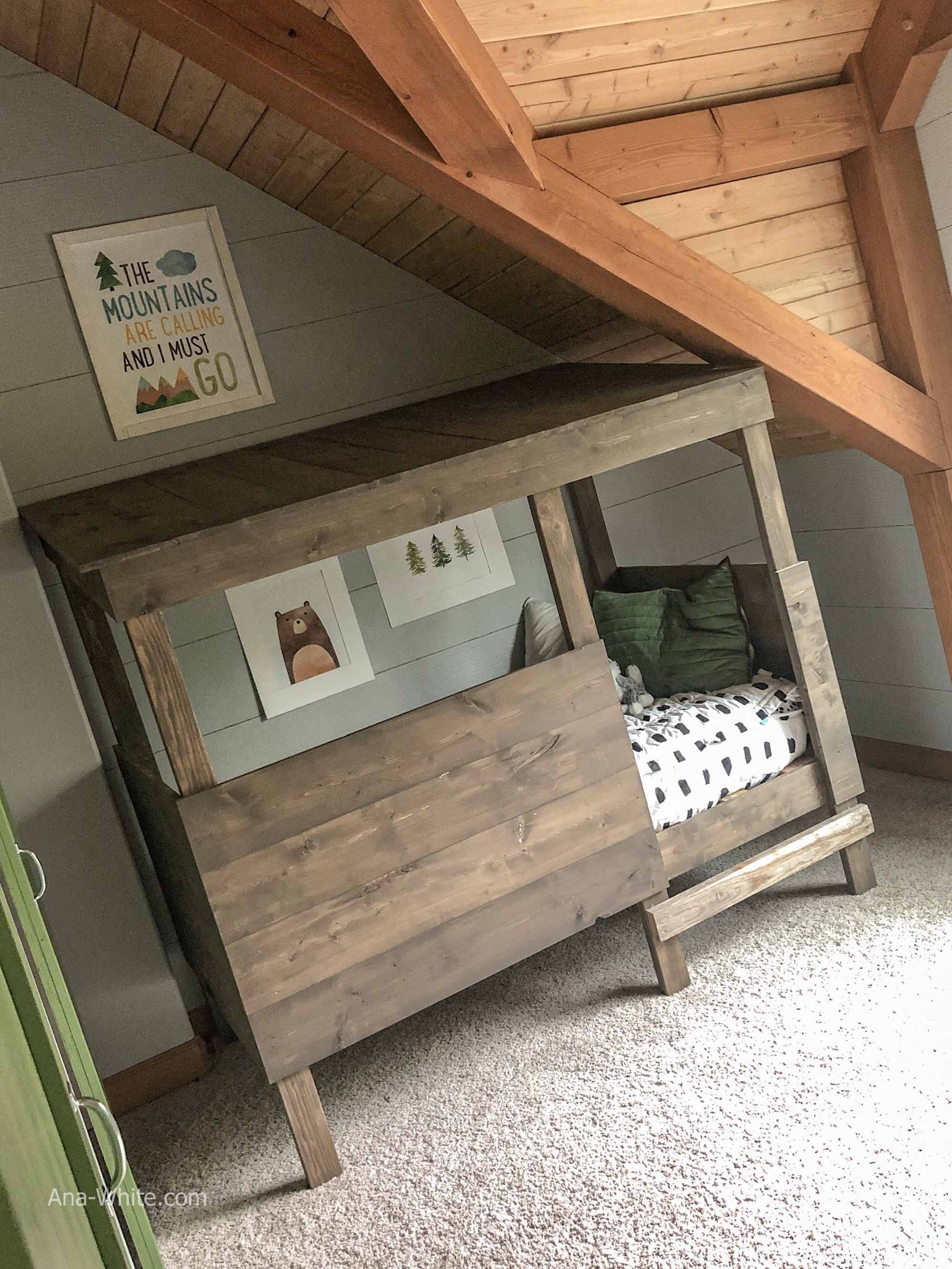 Treehouse Bed Ana White