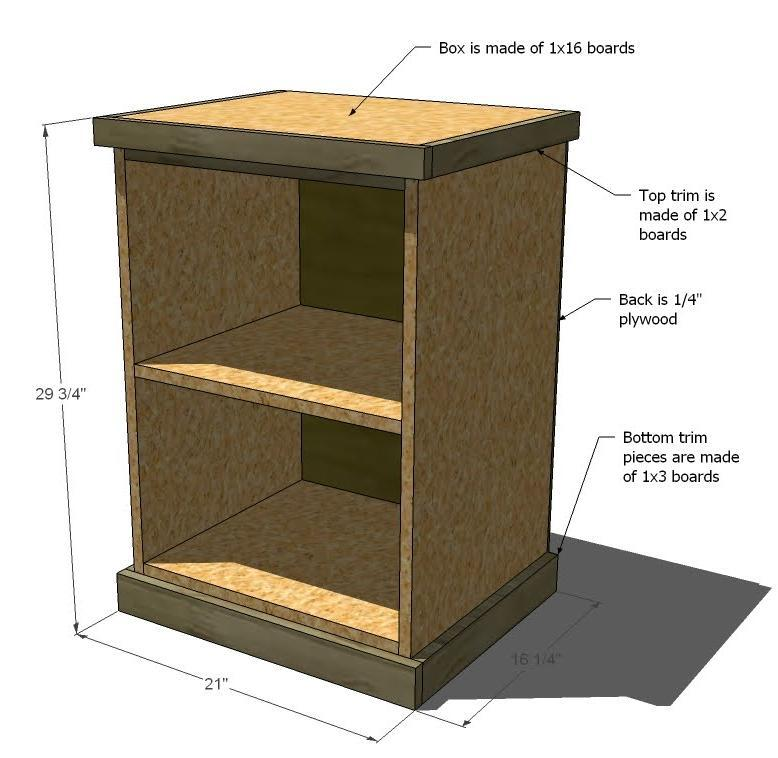 How To Build A Filing Cabinet Wood Memsahebnet