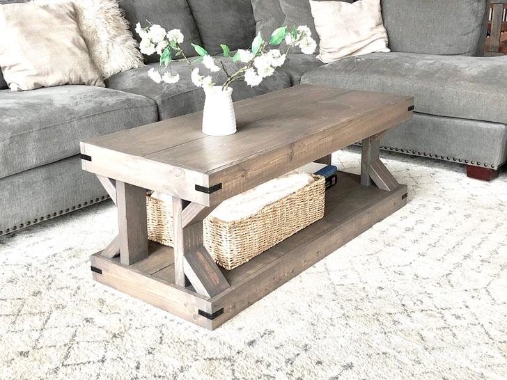 coffee table modern farmhouse